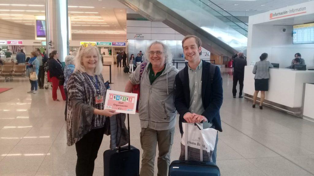 Comité Assitej Internacional Arribando a Uruguay