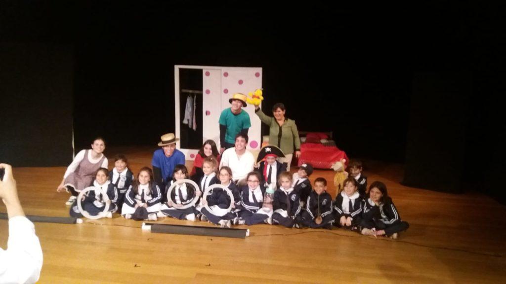 Elenco de la ciudad de Durazno que participó del Festival de Assitej Uruguay