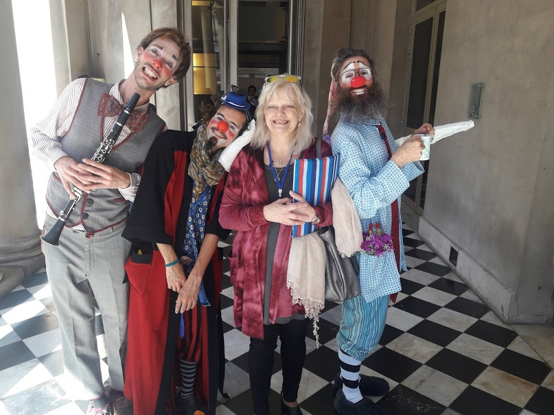 Integrantes del EC de Assitej Internacional disfrutaron del Teatro Solís